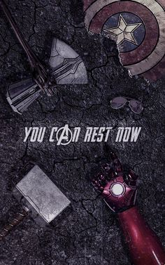 You Can Rest Now!! (Captain America Thor Iron Man Stan Lee)