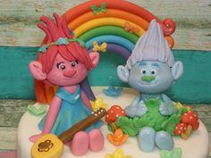 Poppy and Guy Diamond cake - Cake by eMillicake