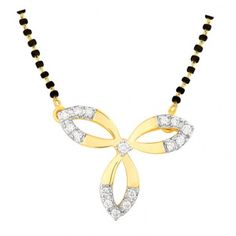 Ananya #diamond #gold #mangalsutra