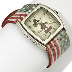 I want a Mickey watch with his arms and hands sowing the time