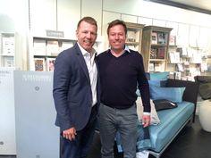 Besuch bei Betten Ritter... — auf der Suche nach einem Bett mit Axel Kahn und Hans-Günther Lohr hier: Betten Ritter GmbH.