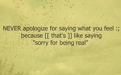 I always did this. No more...and I don't care what others think anymore. I