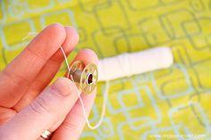 Using elastic thread