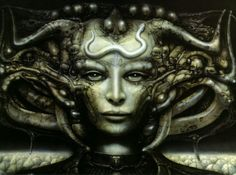 Ronald Cobb and H.R Giger