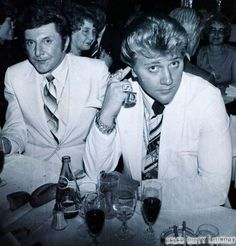 The two actors will portray Scott Thorson and Liberace in the upcoming biopic, Behind the Candelabra, which is being directed by Steven Soderbergh. Behind The Candelabra, Las Vegas, Merv Griffin, Same Love, Famous Couples, Shining Star, Family Events, Love Affair, Art