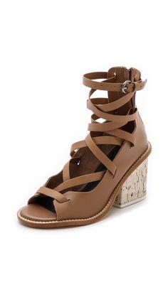 Tibi Finch Gladiator Sandals