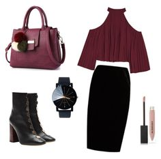 """Untitled #7"" by andreeaclaudia480 on Polyvore featuring E L L E R Y, W118 by Walter Baker, Jupe By Jackie and Burberry"