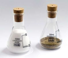 Salt & Pepper Chemistry Beakers | 43 Awesome Things You Need In Your Kitchen