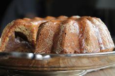 Bundt banana bread à la crème de marrons {vegan} - aime & mange