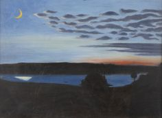 Majnatt (May Night) by Hugo Simberg on Curiator, the world's biggest collaborative art collection. Digital Museum, Collaborative Art, Landscape Paintings, Landscapes, Autumn Art, Finland, Painting & Drawing, Oil On Canvas, Artsy