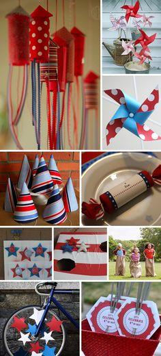 Patriotic Parties Fun and Games