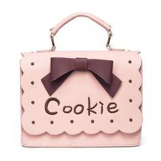 Sweet Cookie Handbag | Cookie Monster | Kawaii | Gyaru | Harajuku | Handbags and Purses | Satchel | Novelty Bags #quirkypurse