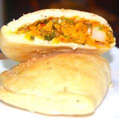Vegan Kheema-Stuffed Naan Calzones | Holy Cow! Vegan Recipes naan calzon, food, vegan recipes, recip blog, holy cow, holi cow, kheemastuf naancalzon, healthi recip, kheema naan