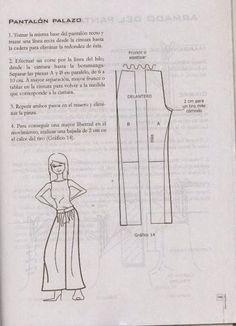 modelist kitapları: Miguel Angel Cejas - confección y diseño de ropa Miguel Angel, Mccalls Patterns, Sewing Patterns, Sewing Pants, Modelista, Pattern Drafting, Pants Pattern, Sewing Techniques, Pattern Fashion