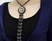 Evil Eye Pendant Charming Design of Handmade Necklace from Thailand - free shipping