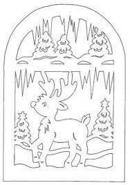 scroll saw deer Christmas Stencils, Christmas Templates, Christmas Paper, Christmas Printables, Christmas Colors, Kirigami, Paper Cutting, Christmas Coloring Pages, Christmas Embroidery