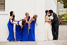 10 bridesmaids ideas - photo ideas 1 via National Vintage Wedding Fair blog
