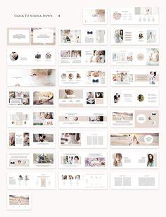 Cara Brochure Template by SlideStation on Presentation Design, Presentation Templates, Brochure Design, Brochure Template, Wedding Album Design, Wedding Album Layout, Catalogue Layout, Wedding Brochure, Magazine Layout Design
