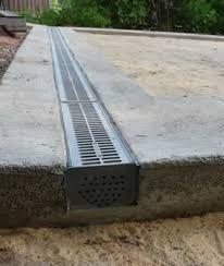 Afbeeldingsresultaat voor verhoogd terras met 100x100 betontegels