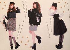 "Larme - ""/cgl/ - Cosplay & EGL"" is imageboard for the discussion of cosplay, elegant gothic lolita (EGL), and anime conventions. Harajuku Fashion, Japan Fashion, Kawaii Fashion, Cute Fashion, Fashion Outfits, Fashion Catalogue, Japanese Street Fashion, Moda Fashion, Kawaii Clothes"