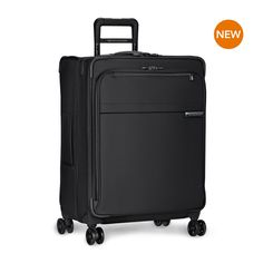 Briggs & Riley Baseline Medium Expandable Spinner black