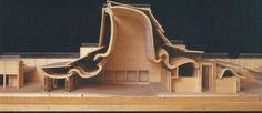 Architectural Model / Bagsværd Church by Jørn Utzon (1976), Denmark