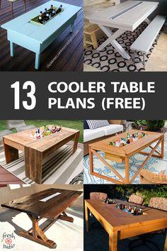 9 best outdoor table plans images woodworking building furniture rh pinterest com