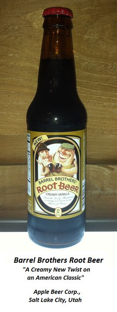 ROOT BEER REVIEW, Barrel Brothers Root Beer: Creamy aroma (think cake frosting!).  Pours foamy.   Essentially a cream soda/root beer hybrid, this drink has a very sweet, cream soda-like initial flavor with only subtle rootiness.  Strong vanilla aftertaste.  If you prefer your root beer with max vanilla flavor, then Barrel Bros might be worth a try.
