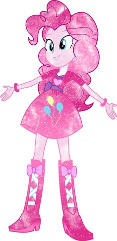 Galaxy EG Pinkie Pie By DigiRadiance On DeviantArt Crystal PoniesHuman MlpPinky PieRainbow DashRainbow GalaxyRainbow RocksMlp ComicsEquestria GirlsMy