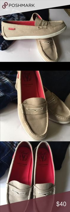 Cole Haan Linen Boat Loafers Condition: Great Used Condition  Cosmetic Blemish: None Notes: Instep is in excellent condition  Questions: Ask away! *Other items pictured are available in my shop! ❤️ Always shipped the same or next day ❤️Pet Free/Smoke Free Environment 💞MAKE ME OFFERS 🍀 Cole Haan Shoes Flats & Loafers