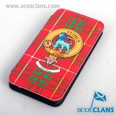 Bruce Clan Crest iPhone Case