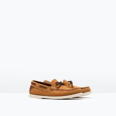 ZARA - KIDS - LEATHER MOCCASIN WITH BOW