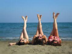 Taking FUN pics at the beach!