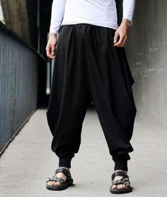 Men's Linen Harem Style Pants
