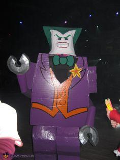 Lego Joker - 2012 Halloween Costume Contest
