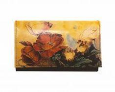 Ručne maľovaná kožená peňaženka 8542 s motívom Makov Painting, Art, Art Background, Painting Art, Kunst, Paintings, Performing Arts, Painted Canvas, Drawings