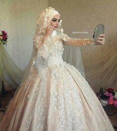 Beauty muslim bride # peçe nikab nikap nikabis kapalı çarşaf hicab ...