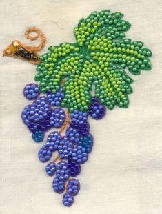 Bead embroidery & crochet