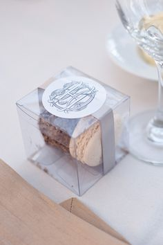 Elegant Oldfield Club Wedding by Posh Petals and Pearls - Southern Weddings Succulent Wedding Favors, Edible Wedding Favors, Rustic Wedding Favors, Beach Wedding Favors, Clear Favor Boxes, Wedding Favor Inspiration, Macaron Boxes, Wedding Decorations On A Budget, Wedding Gift Boxes