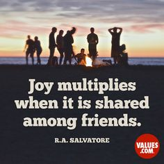 Build strong connections with others by sharing your thoughts and experiences. #sharing #passiton www.values.com