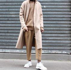 Image Tomboy Fashion, Dope Fashion, Hipster Fashion, Mens Fashion, Mode Streetwear, Streetwear Fashion, Mode Dope, Korean Fashion Men, Smart Styles
