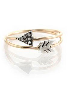 Pi Phi arrow ring #piphi #pibetaphi