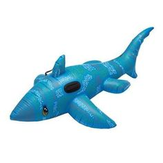 INFLATABLE SHARK in Blue