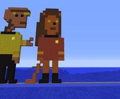 Pixel art du jour. A demain pour le pixel art du Week end. Bonne journée à tous. Minecraft, Week End, Vaulting, Pixel Art, Fallout Vault, Fictional Characters, Hapy Day, D Day, Fantasy Characters