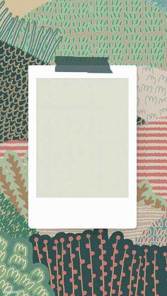 Handy Wallpaper, Framed Wallpaper, Photo Frame Wallpaper, Creative Instagram Stories, Instagram Story Ideas, Aesthetic Iphone Wallpaper, Aesthetic Wallpapers, Pastell Wallpaper, Polaroid Picture Frame