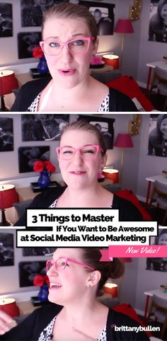 Marketing with video on social media is SUPER powerful, IF (and ONLY if) your videos are good. But what separates good video content from mediocre video content? Well, primarily your message-- as well as the unique way you deliver that message. Today, I want to talk to you about three distinct facets of that message you really should consider if you want your video marketing to be effective. And as always, if you find this video helpful and want to chat about how to put these concepts to…