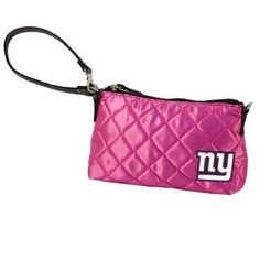 NFL New York Giants Pink Quilted Wristlet by Little Earth. Save 4 Off!. $19.26. NFL New York Giants Pink Quilted Wristlet