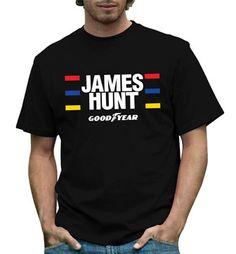 James Hunt Helmet design T Shirt