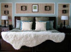 Бамбук в интерьере спальни