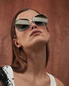 5ed80bddba88 Victoria Beckham - Fine Wave. Sunglasses ShopCat Eye SunglassesMirrored ...